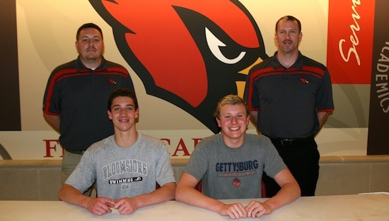 Ud 39 s ogden polak to swim at collegiate level for Bloomsburg university swimming pool