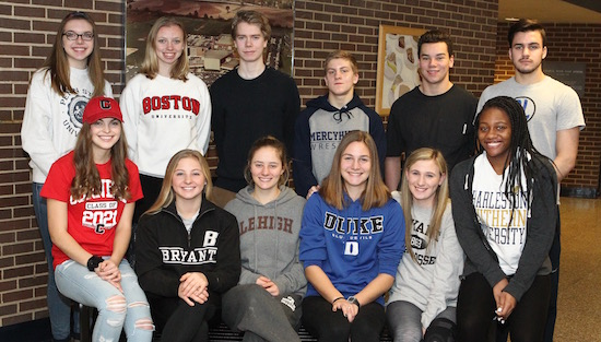 Cr North Seniors Commit To Play Collegiate Sports